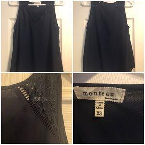 Monteau Blouse XS Sleevless